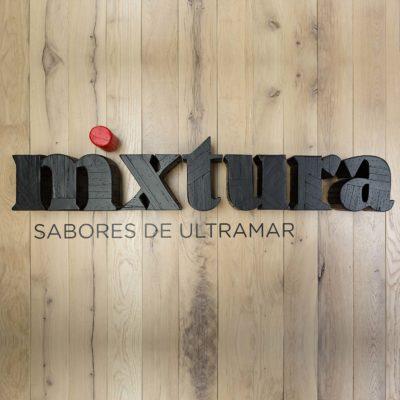 Cartel Restaurante Mixtura