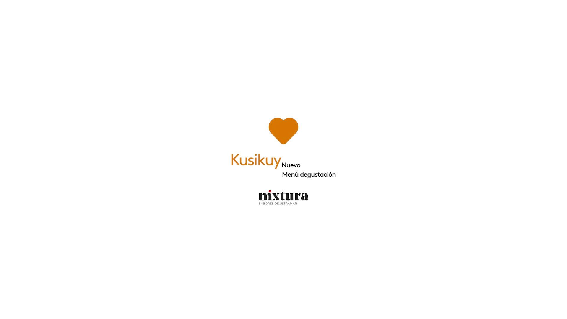 Nuevo menú Kusikuy